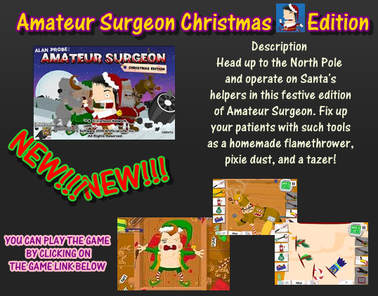 amateur surgeon christmas elf